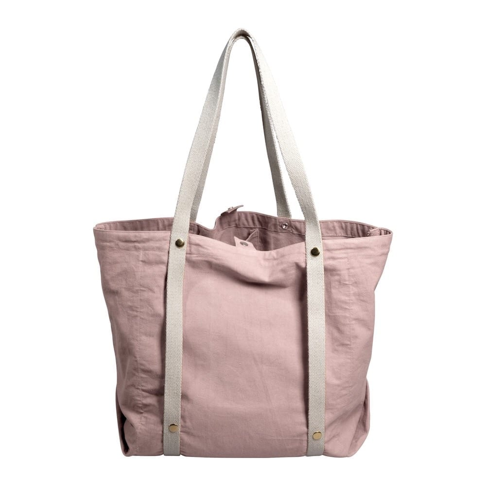 Organic Cotton Tote Bag - Mauve