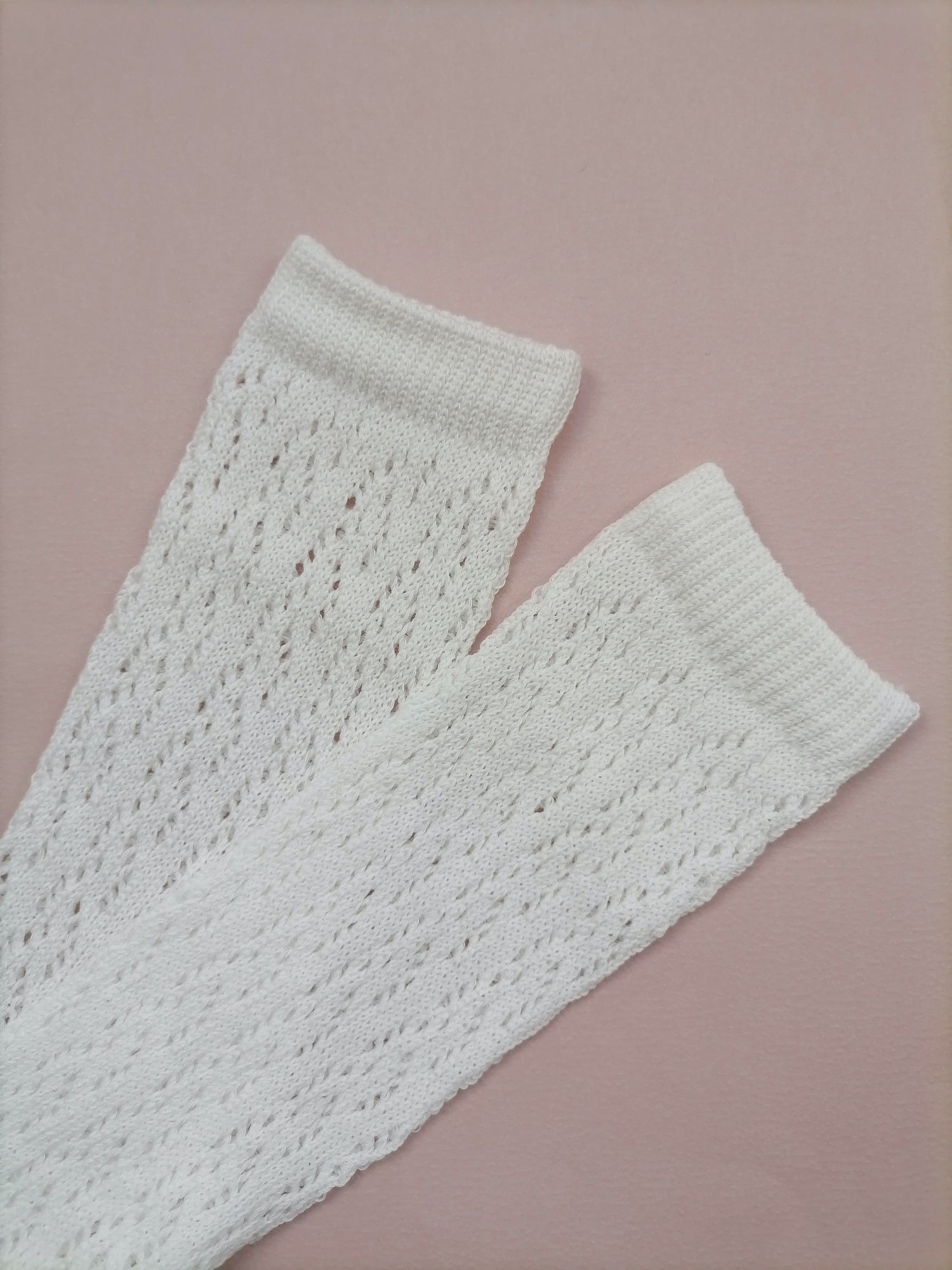 Traditional Lace Knee Socks