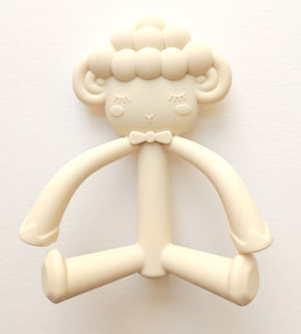Larry Lamb Teether - Cream