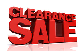 MARKED DOWN & CLEARANCE ITEMS