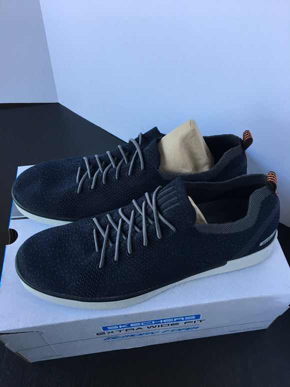 Navy Blue Men Sketchers Sneakers