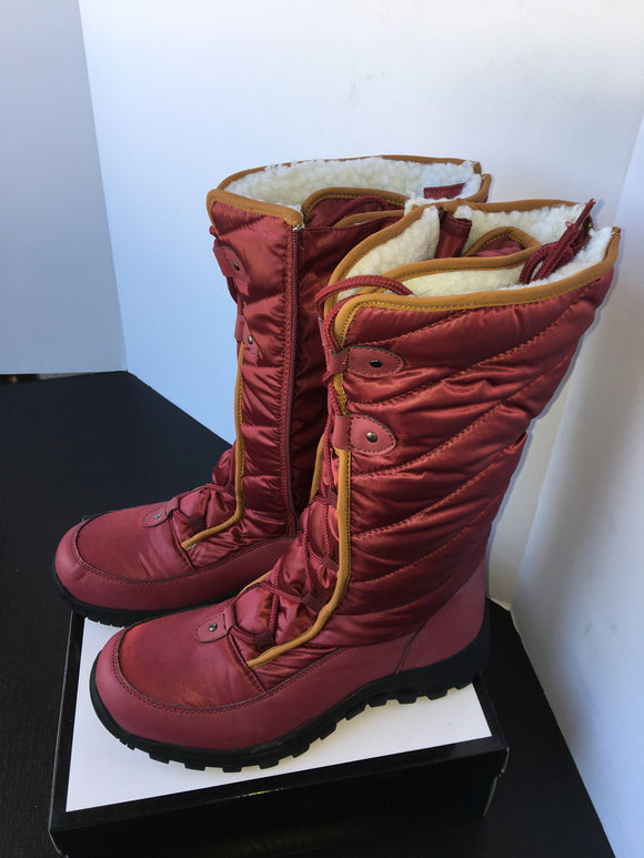 New Women Winter Boots - Red