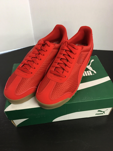 New Men Puma Sneakers In Red