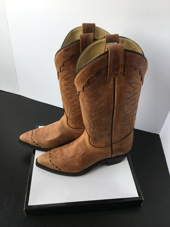 New Canadian Made Men Cowboy Boots