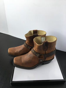 New Ladies Cowboy Ankle Boots