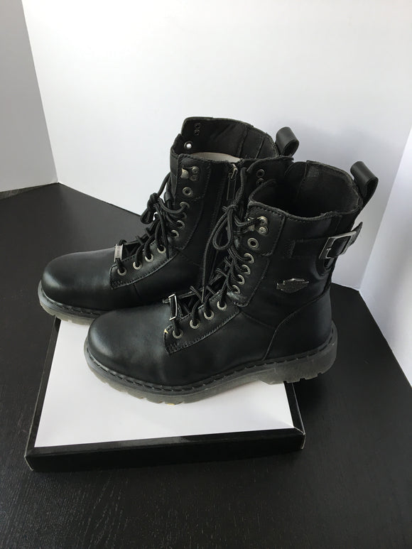 New Canadian Made Men Biker Boots