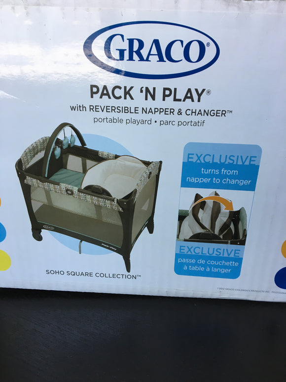 New Graco Playpen