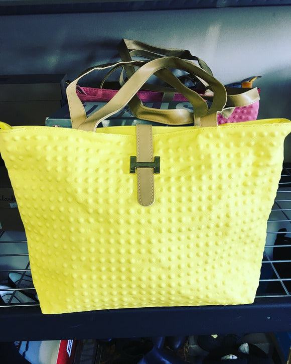 New Ladies Every Day Hand Bag - Yellow