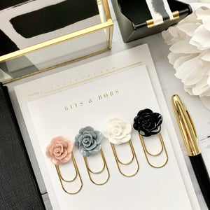 Neutral Cabochon Rose Collection