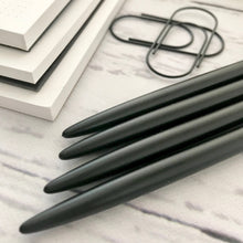 Load image into Gallery viewer, Skinny MATTE Black Ballpoint Pen
