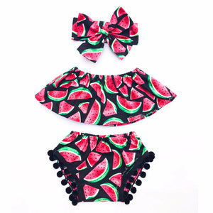 Watermelon Summer Outfit Set