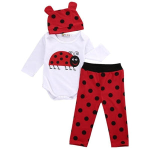 Lady Bug Outfit Set
