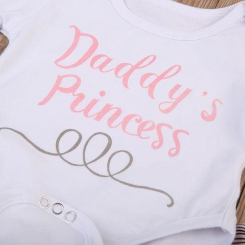 Daddy's Princess Outfit Set