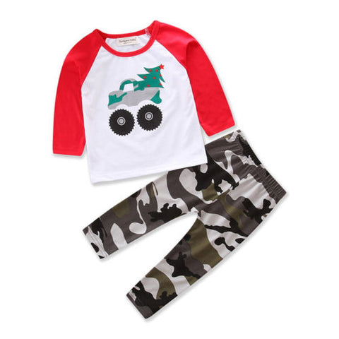 Monster Truck Outfit Set