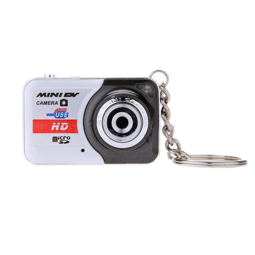 X6 Portable Ultra Mini HD High Denifition Digital Camera Mini DV Support 32GB TF Card with Mic