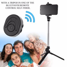 Extendable Mini Monopod Tripod Desktop Portable Stand Bluetooth Remote Shutter Selfie Stick Mount For Mobile Phone Drop Shipping