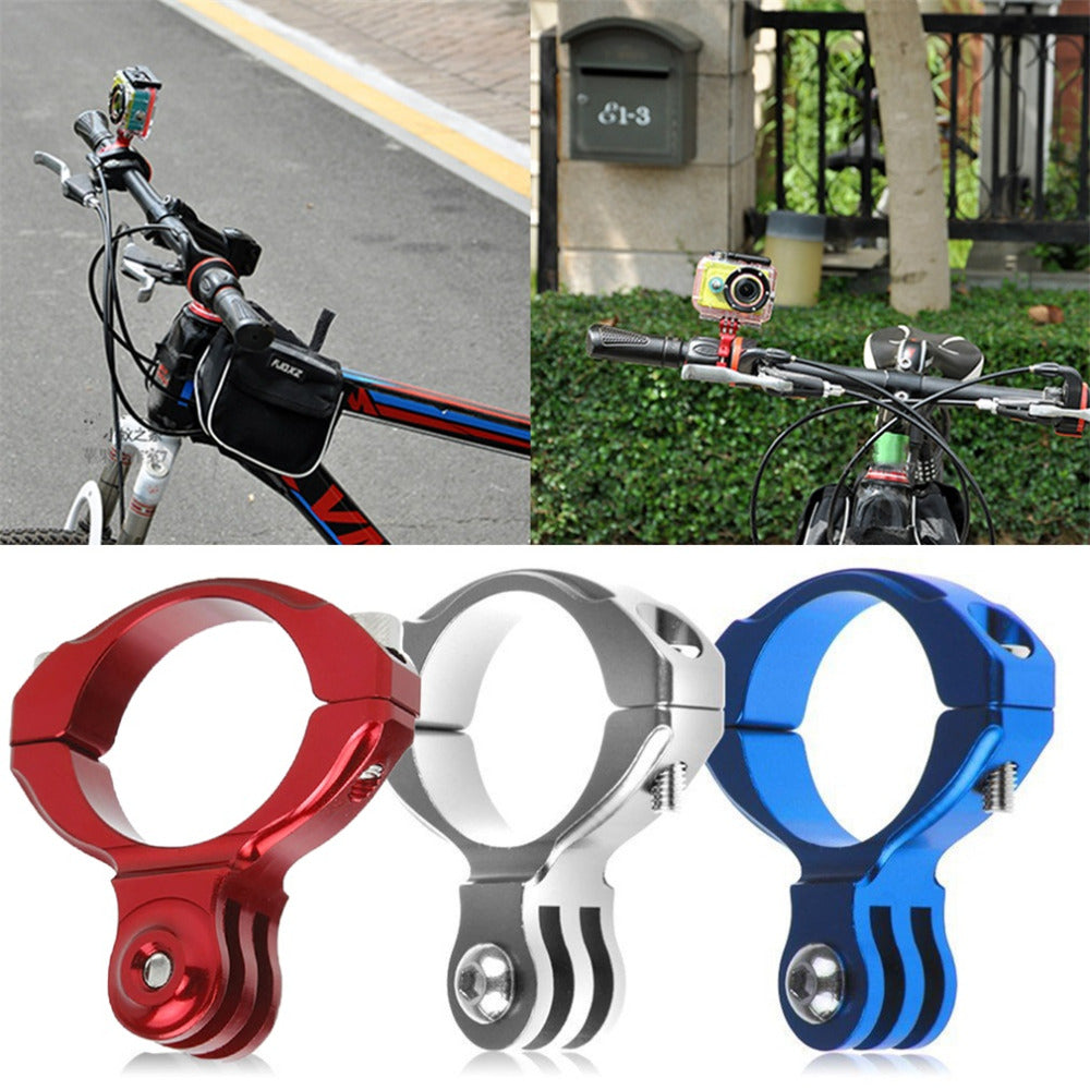 Bicycle Bike Cycle Aluminum Handlebar Bar Clamp Mount For Gopro Hero 1/2/3/3+ Camera Accessories