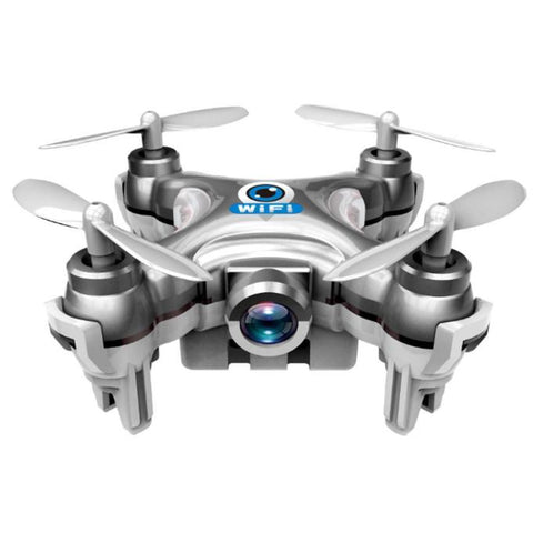 Cheerson CX-10W Mini Wifi FPV With 720P Camera 2.4G 4CH 6 Axis LED RC Quadcopter