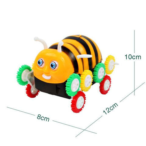 Toy Honeybee Electric Degrees Roll  Electric RC Stunt Dancing Drift Toy Car