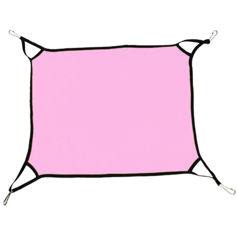 Super Soft Cat Hammock Pet Supplies Cat Beds  Cat Furniture 65 X 57 CM-Pink