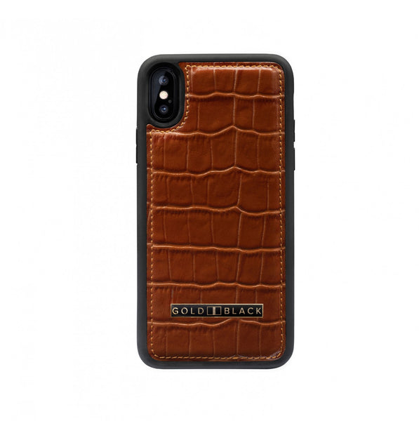 iPHONE XS CASE CROCO