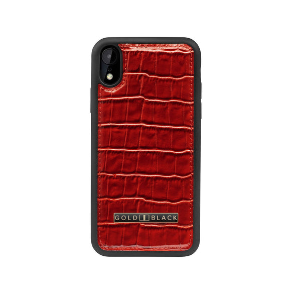 iPHONE XR CASE CROCO