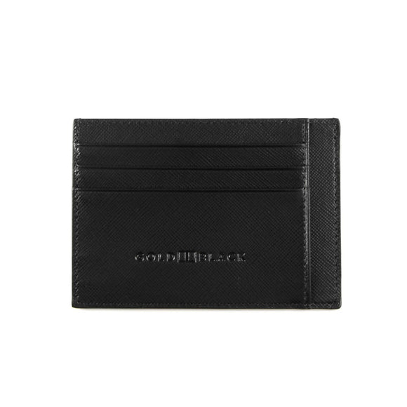 CARD HOLDER BILL / SAFFIANO BLACK WALLET