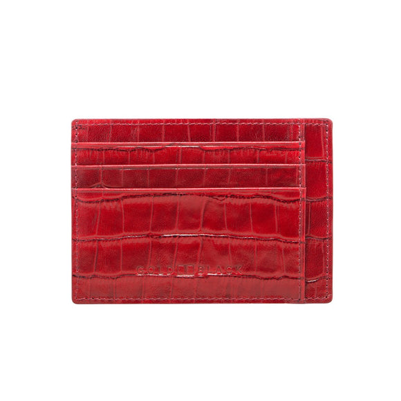 CARD HOLDER BILL CROCO WALLETS