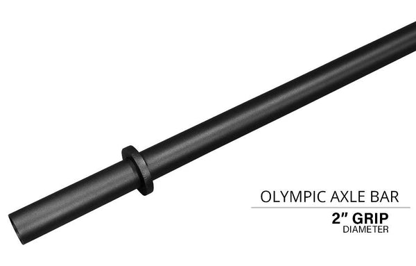 Quest Fat Bar (Axle Bar) - WITH OLYMPIC COLLARS (AxleBar)