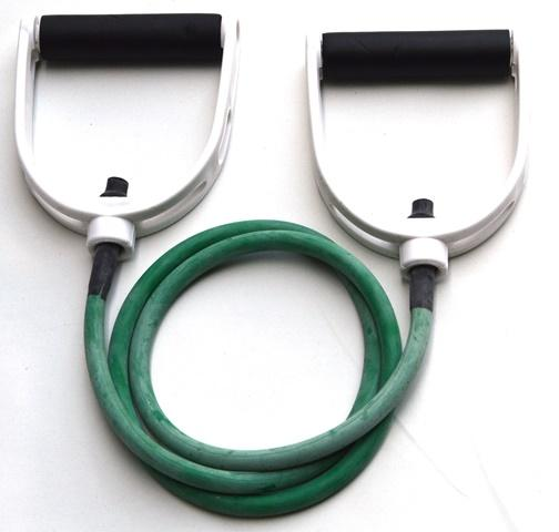 Resistance Tube Band with Handles - Light (Green)