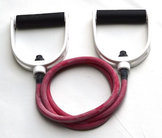 Resistance Tube Band with Handles - Average (Red)