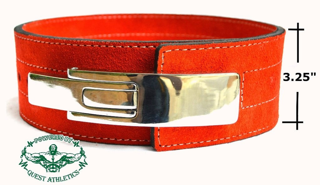 Quest Women's 88 Lever Belt - Red (Quest88Belt_Red)