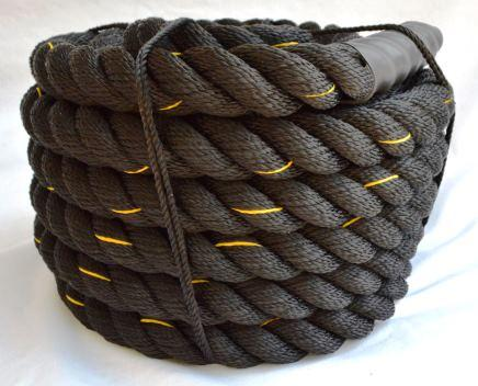 1.5 Inch Poly-Plus Battle Rope - BLACK