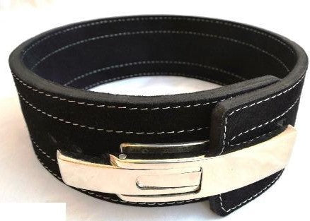 Quest Varsity 10mm Lever Belt - Black (BELT_LEVER10BLK)