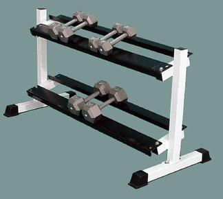 Dumbbells Rack (2-Tier 60-inch)