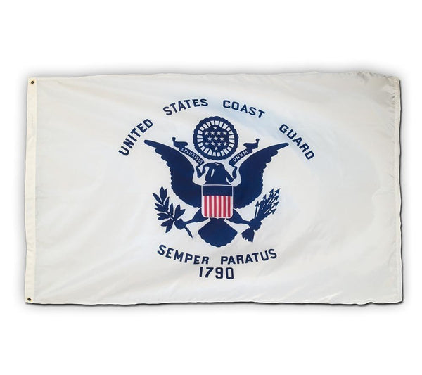 3'x5' COAST GUARD Nylon Flag