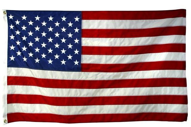 3'x5' U.S. Flag (Outdoor SolarMax Nylon)