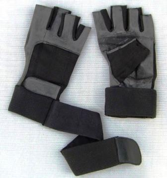 Lifting/Training Gloves with Wrist Wraps