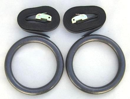 Gymnastic Rings (Pair) BLACK