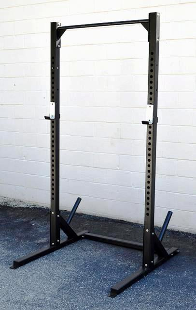 Half Rack with Pull-up Bar