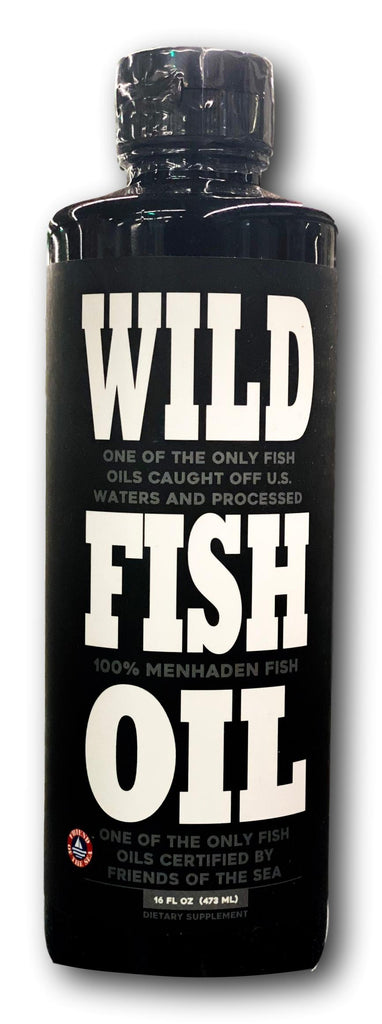 Wild Fish Oil (100% Menhaden Fish)
