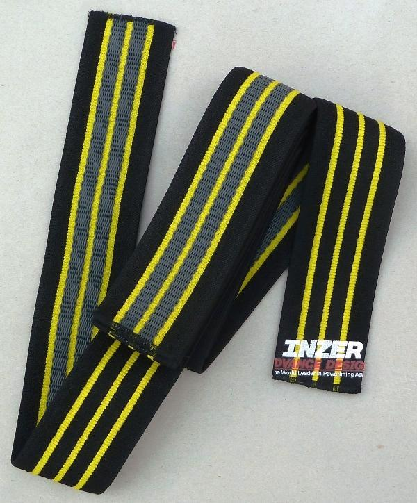 INZER Gripper Knee Wraps (Pair)