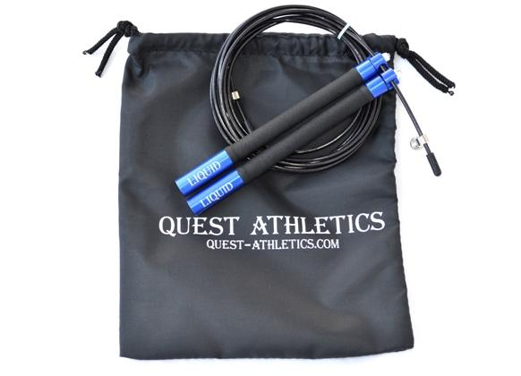 Liquid Smooth Speed Jump Rope WITH Grip-Right Technology