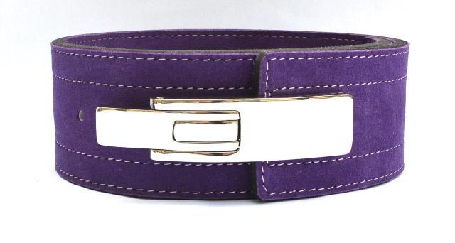Quest Varsity 10mm Lever Belt - PURPLE (BELT_LEVER_PUR)