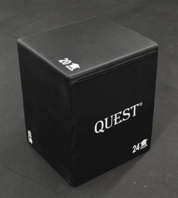 Bloodless 3-n-1 Soft Plyo Box (18x20x24 Inch)