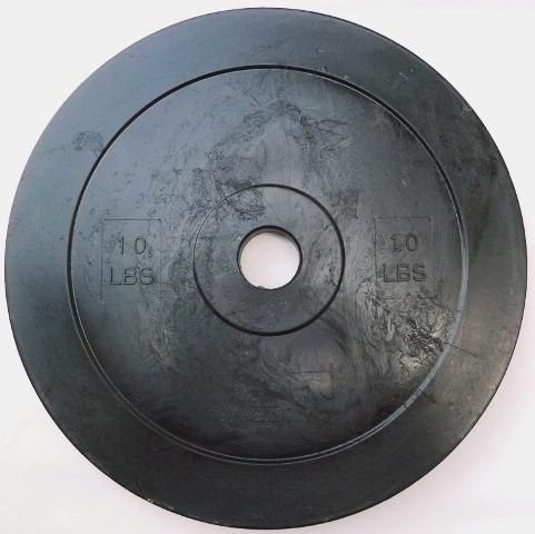 10 LB Super-Dura Technique Plate (Black)