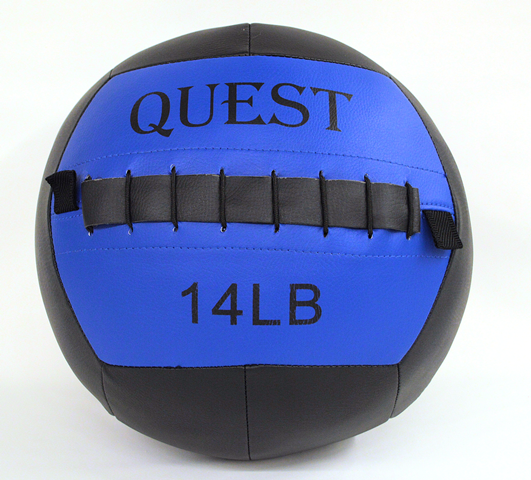 Quest Wall Ball - 14 Lbs [Clearance] (WallBALL14_C)