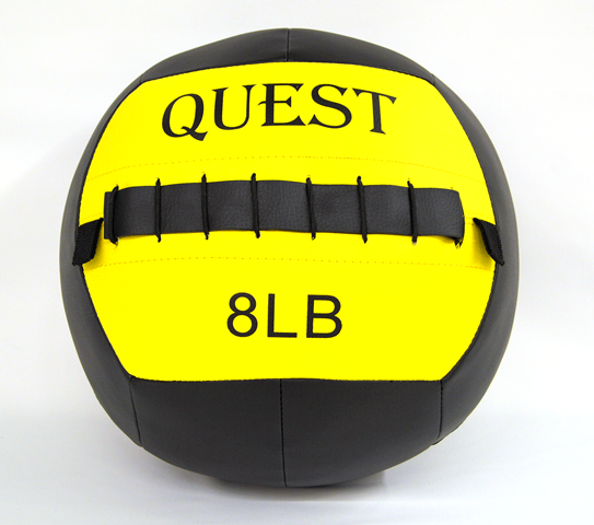 Quest Wall Ball - 8 Lbs [Clearance] (WallBALL8_C)