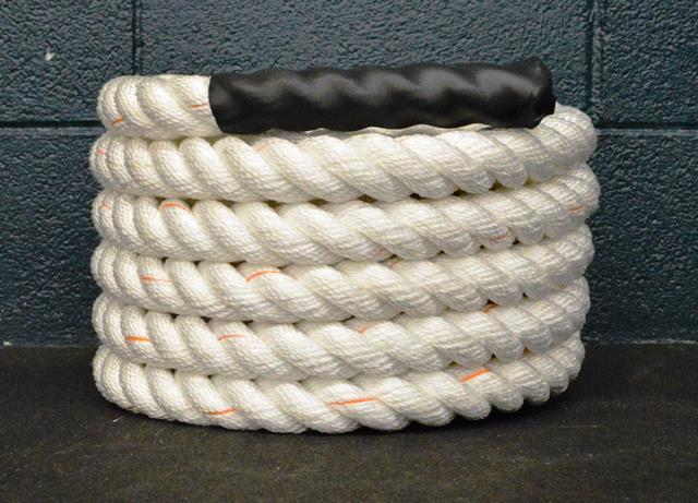 1.5 Inch Poly-Plus Battle Rope - WHITE