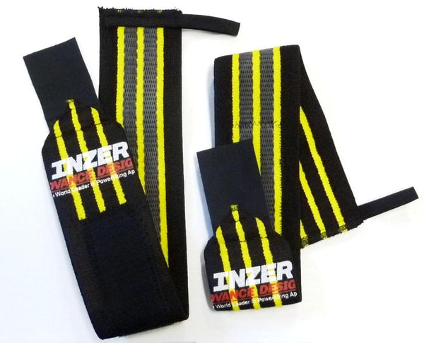 INZER Gripper Wrist Wraps (Pair)